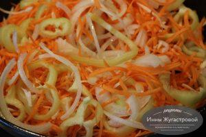 Шаг 7. Потушить овощи