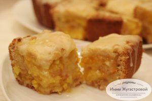 Миндальный пирог с лимоном и апельсином