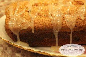 Ванильный кекс с изюмом