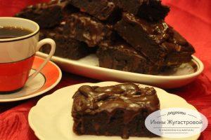 Десерт Брауни из какао