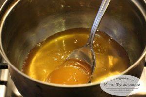 Шаг 1. Растопить мед