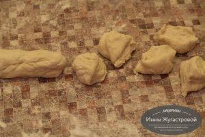 Шаг 5. Подготовить тесто для раскатывания