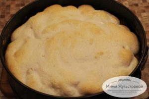 Шаг 13. Пирог из духовки