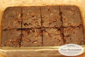 Брауни, шоколадный десерт