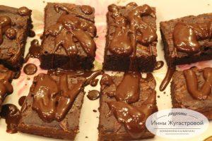 Шоколадный десерт Брауни по простому рецепту