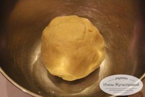 Шаг 3. сформировать тесто в шар