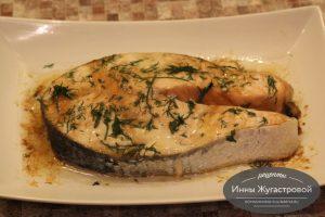 Красная рыба в СВЧ быстро и вкусно