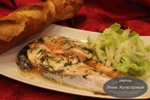 Простой рецепт вкусной красной рыбы в микроволновке