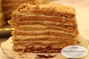 Медовик торт Рыжик