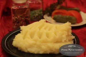 Картофельное пюре на воде