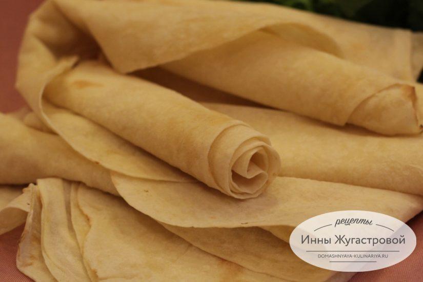 Тонкий армянский лаваш. Домашние рецепты с лавашем