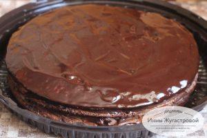 Шоколадный торт Прага