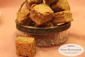Сливочное рассыпчатое песочное печенье