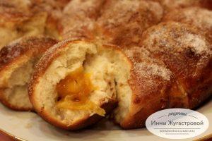 Пирог абрикосовый отрывной