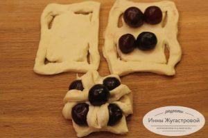 Шаг 7. Сформировать вишневые пирожные