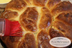 Отрывной абрикосовый пирог