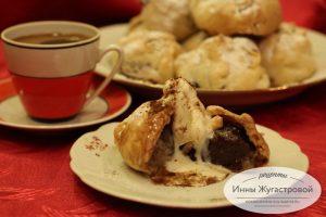 Пирожные с инжиром, имбирем и халвой