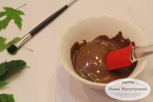 Шаг 13. Растопить шоколад