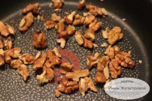 Шаг 9. Поджарить орехи