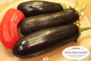 Шаг 1. Выложить овощи