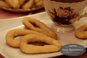 Итальянское сахарное печенье торчетти