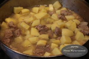 Шаг 7. Добавить картофель
