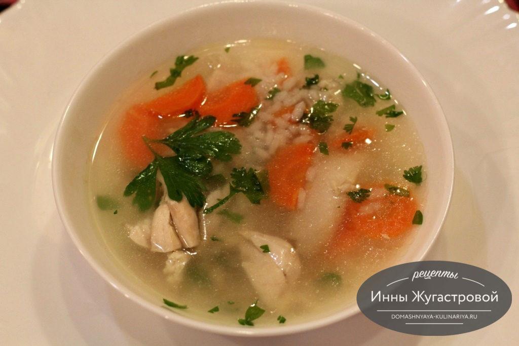 Куриные супы рецепты простые и вкусные на каждый день
