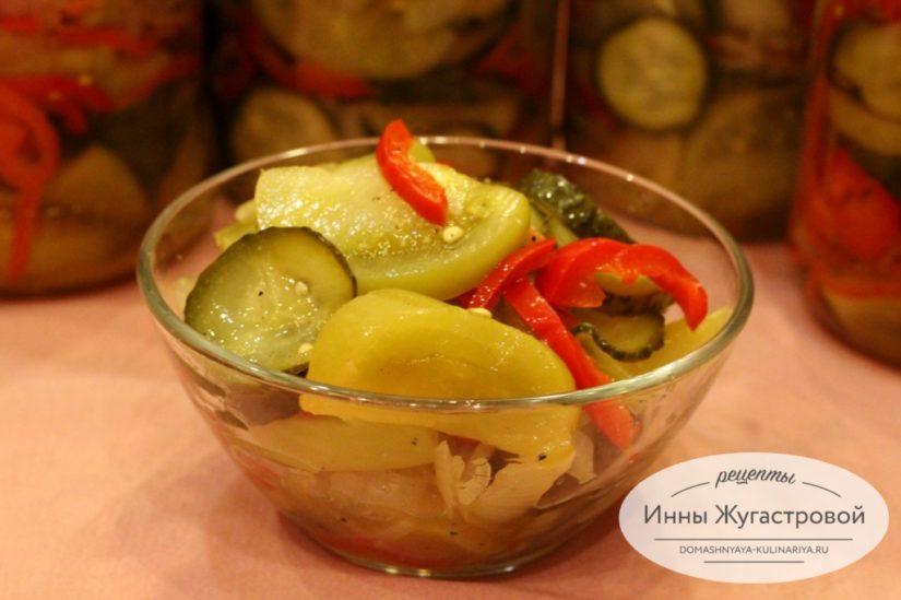 Донской салат, веганская закуска. Консервирование на зиму