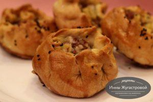 Вак балиш, татарские пироги с мясом и картофелем