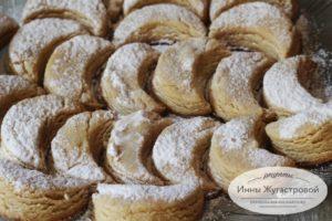 Простое печенье на халве курабье