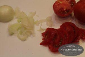 Шаг 3. Нарезать овощи