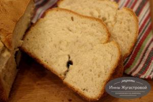 Простой белый хлеб в хлебопечке