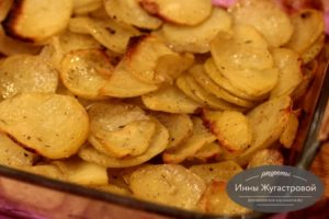 Запеченная в духовке картошка