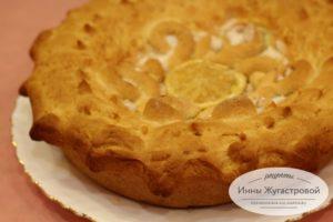 Дрожжевой пирог Лимонник