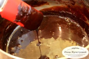 Шоколадный соус на сиропе