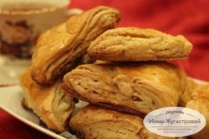 Армянское печенье гата с начинкой