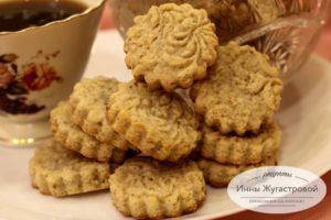 Ореховое песочное печенье