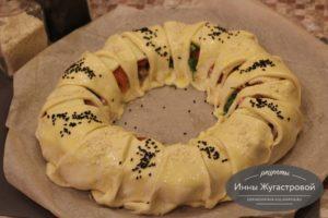 Слоеный пирог Кольцо