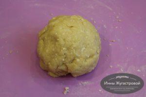 Тесто для сырных палочек