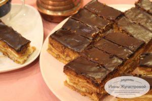 Медовый торт Баттерфляй с орехами