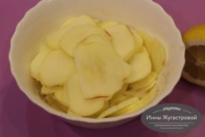 Шаг 8. Взбрызнуть лимонным соком