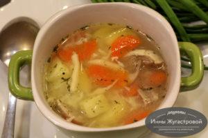 Татарский суп умач аши с лапшой