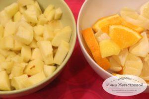 Шаг 6. Подготовить фрукты