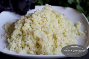 Рис из цветной капусты Джейми Оливера