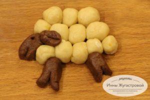Песочное печенье Овечки
