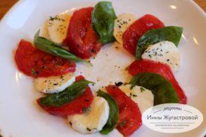Итальянская закуска капрезе