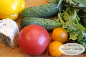 Салат из рукколы