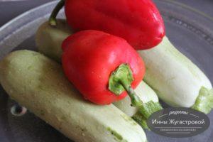 Запечь овощи в СВЧ