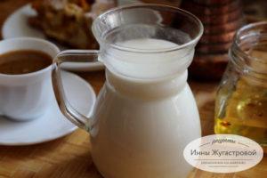 Веганское молоко из кешью