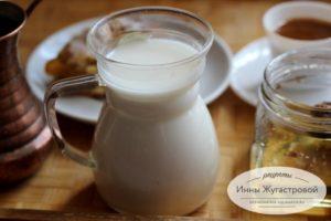 Молоко из орехов кешью